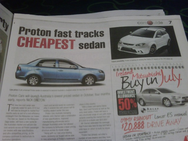 proton australia
