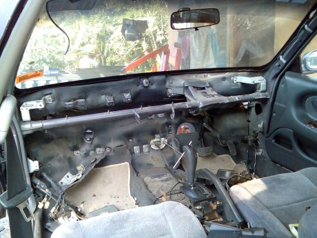 modified perdana interior