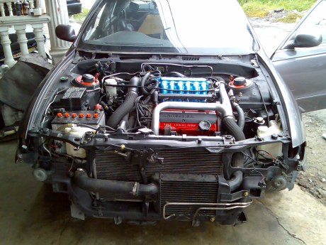 install new engine for perdana