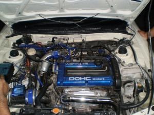 new engine evo perdana
