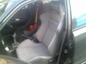 new recaro passenger front seat