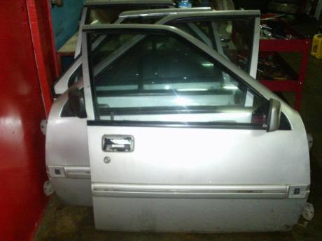Pintu Iswara complete cermin 4 keping depan belakang